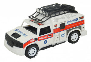 Cross Country Ambulance With Lights and Sound