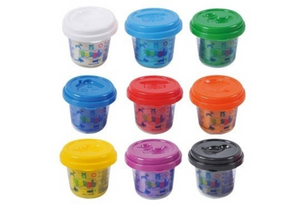 PlayGo 9 Pot Dough Pack