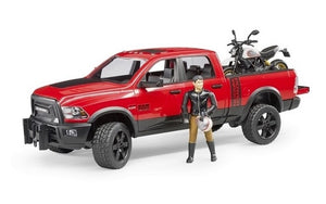 Bruder RAM 2500 Power Wagon with Ducati Desert