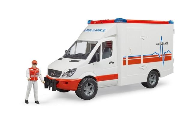 Bruder Mercedes-Benz Sprinter Ambulace With Driver