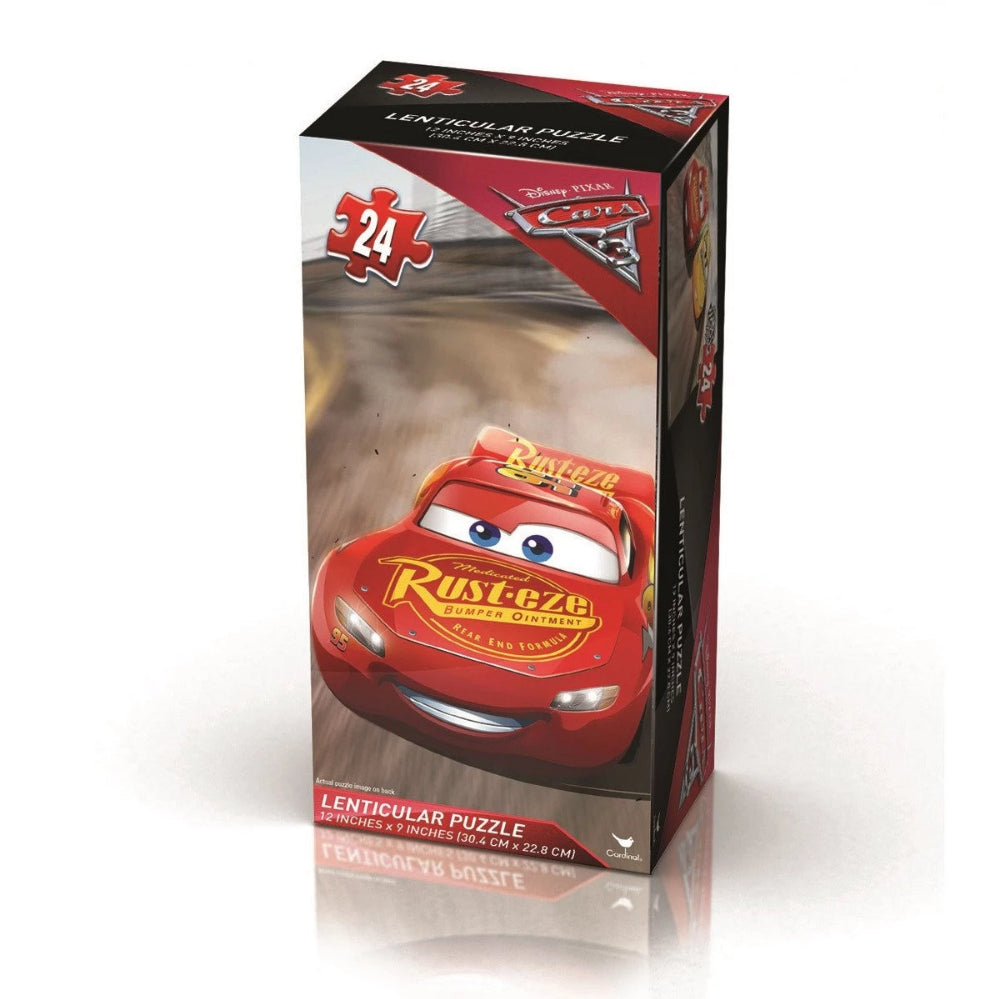Cars 3 Lenticular Tower 24pc Puzzle