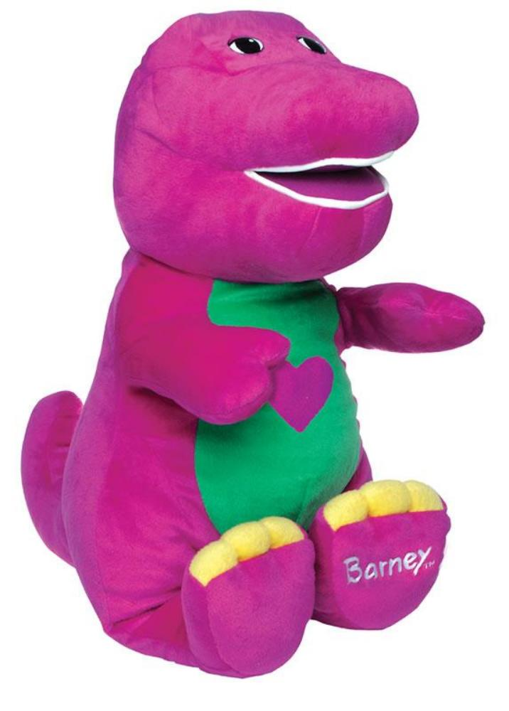 Barney - I Love You Soft Toy 25cm