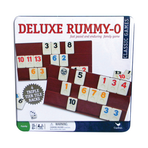 Cardinals Classic Games Deluxe Rummy-O