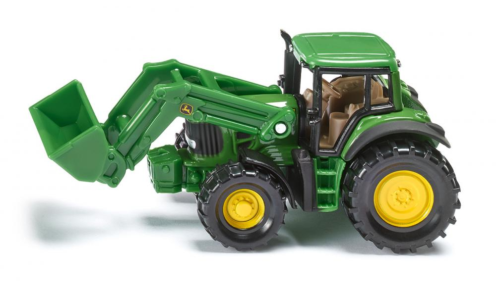 Siku John Deere with Front Loader Scale 1:72