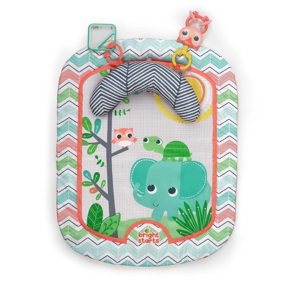 Bright Starts - Giggle & See Safari Prop & Play Mat