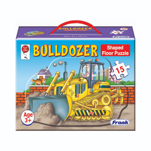 Frank Big 15pc Bulldozer Floor Puzzle