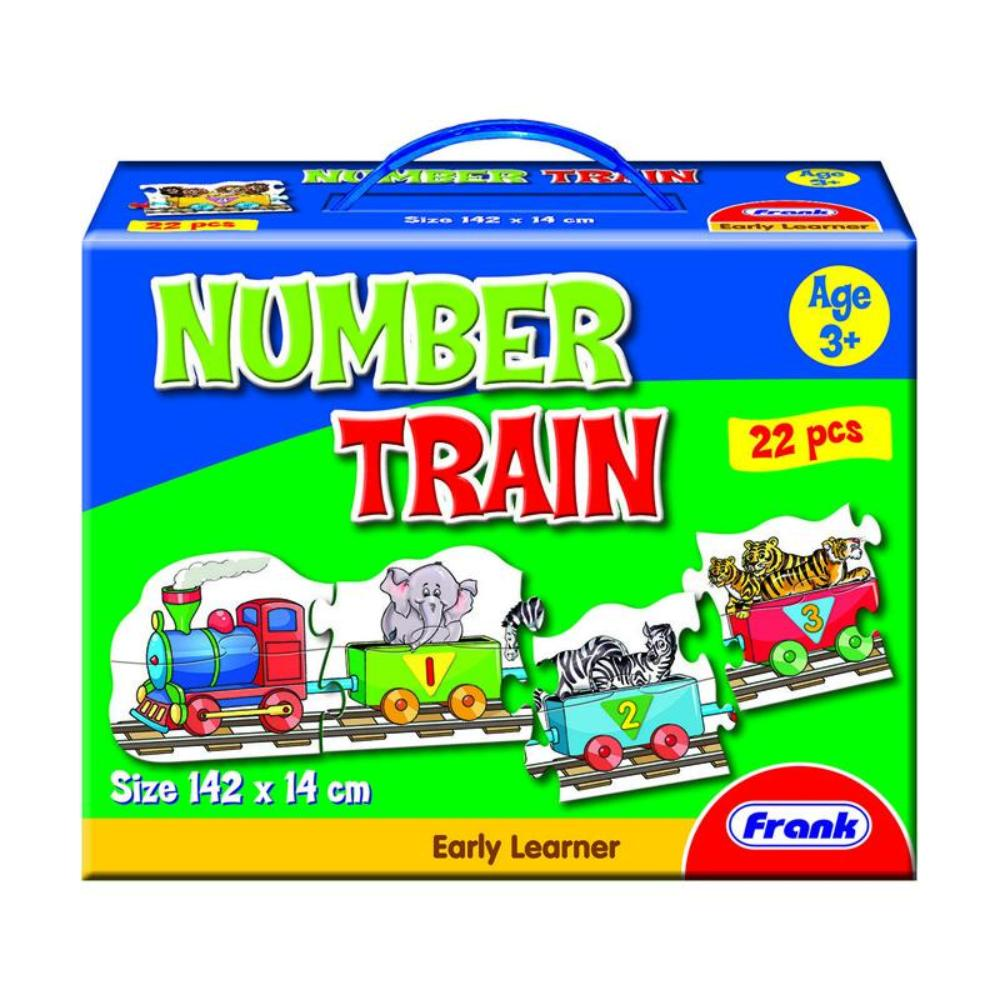 Frank Number Train Floor Puzzle