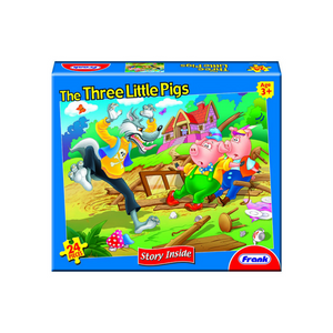 Frank 24pc Puzzle/ Three Little Pigs