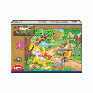 Frank 60pcs Puzzle The Hare & Tortoise