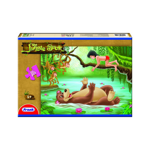 Frank 60pcs Puzzle Jungle Book