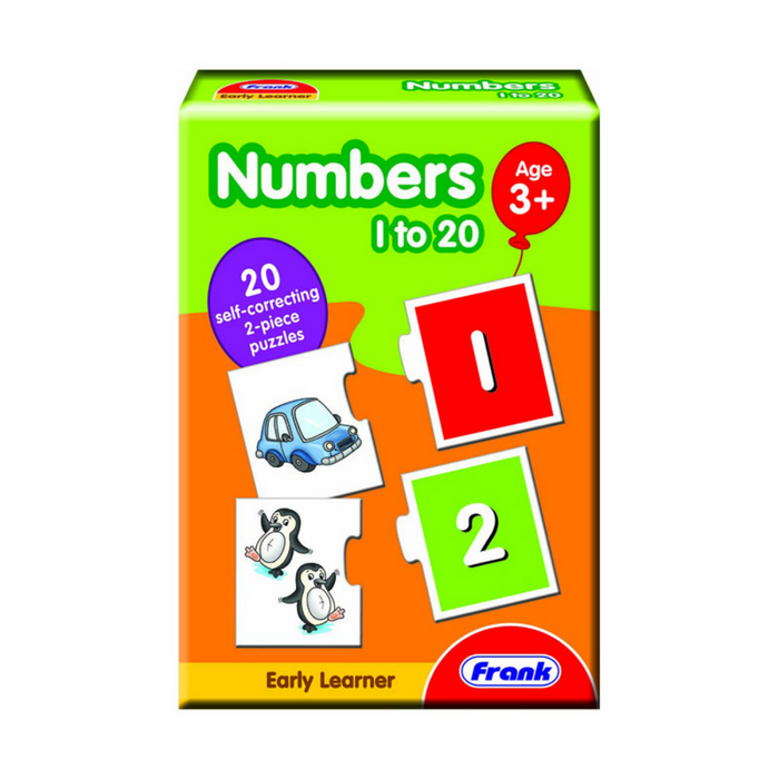 Frank Early Learning Numbers 1 to 20