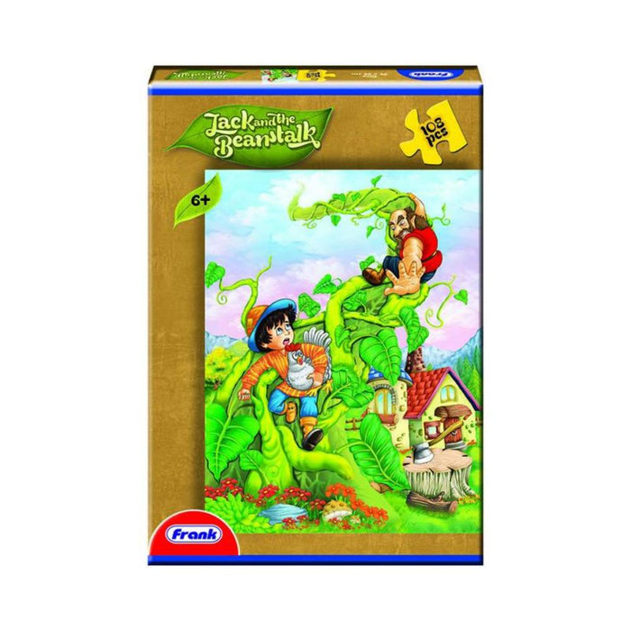 Frank Fairytales 108pc Puzzle - Jack and the Beanstalk