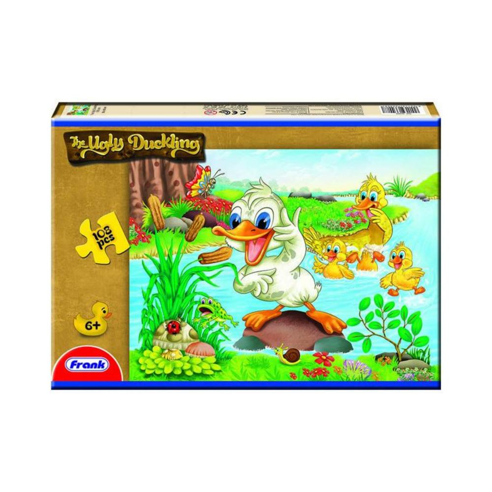 Frank Fairytales 108pc Puzzle - Ugly Duckling