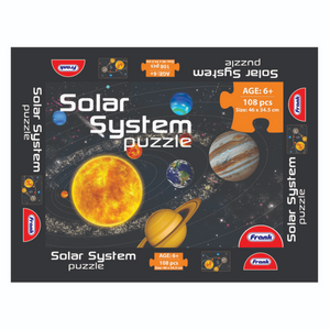 Frank Solar System Puzzle (108pc)