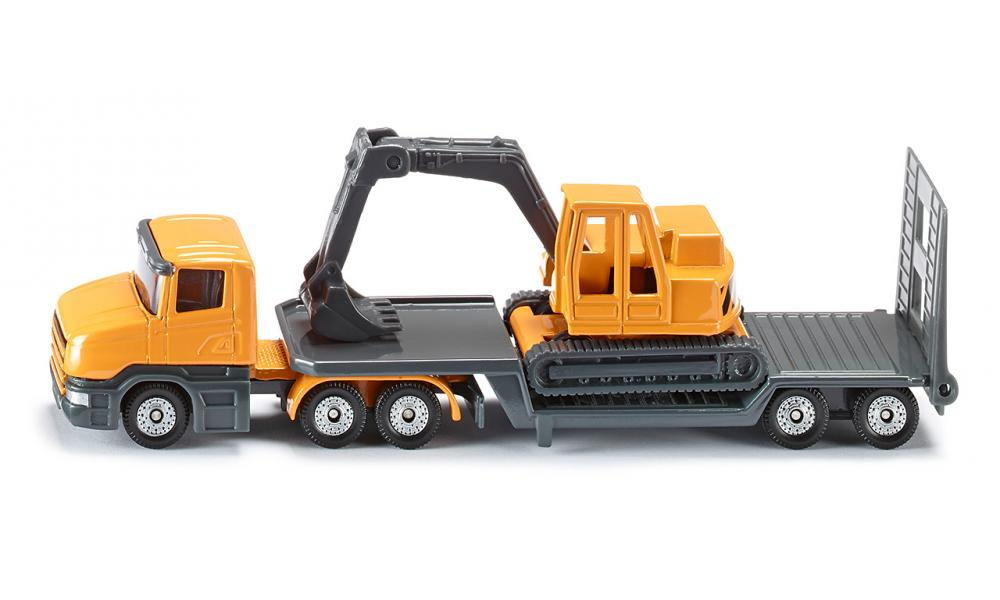 Siku Low loader with excavator 1:87