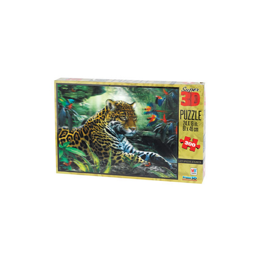 EDUCO Super 3D Puzzle Jaguar (300pc)