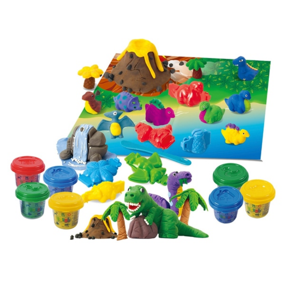 PlayGo Dino Volcano Dough Set