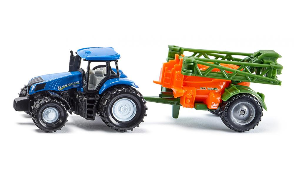 Siku New Holland Tractor with Crop Sprayer 1:87