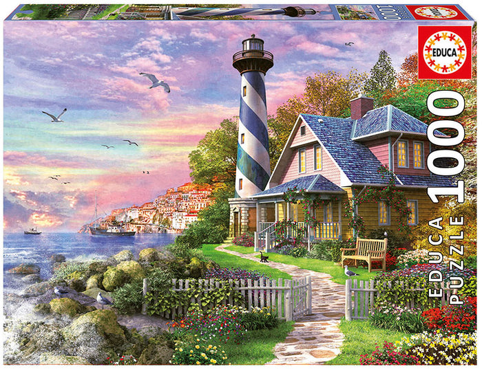 Educa Lighthouse At Rock Bay - 1000pcs Adult Puzzle