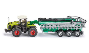 Siku Claas Xerion Tractor with Vacuum Tanker 1:87