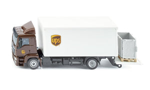 Siku UPS MAN Truck with box body and tail lift 1:50