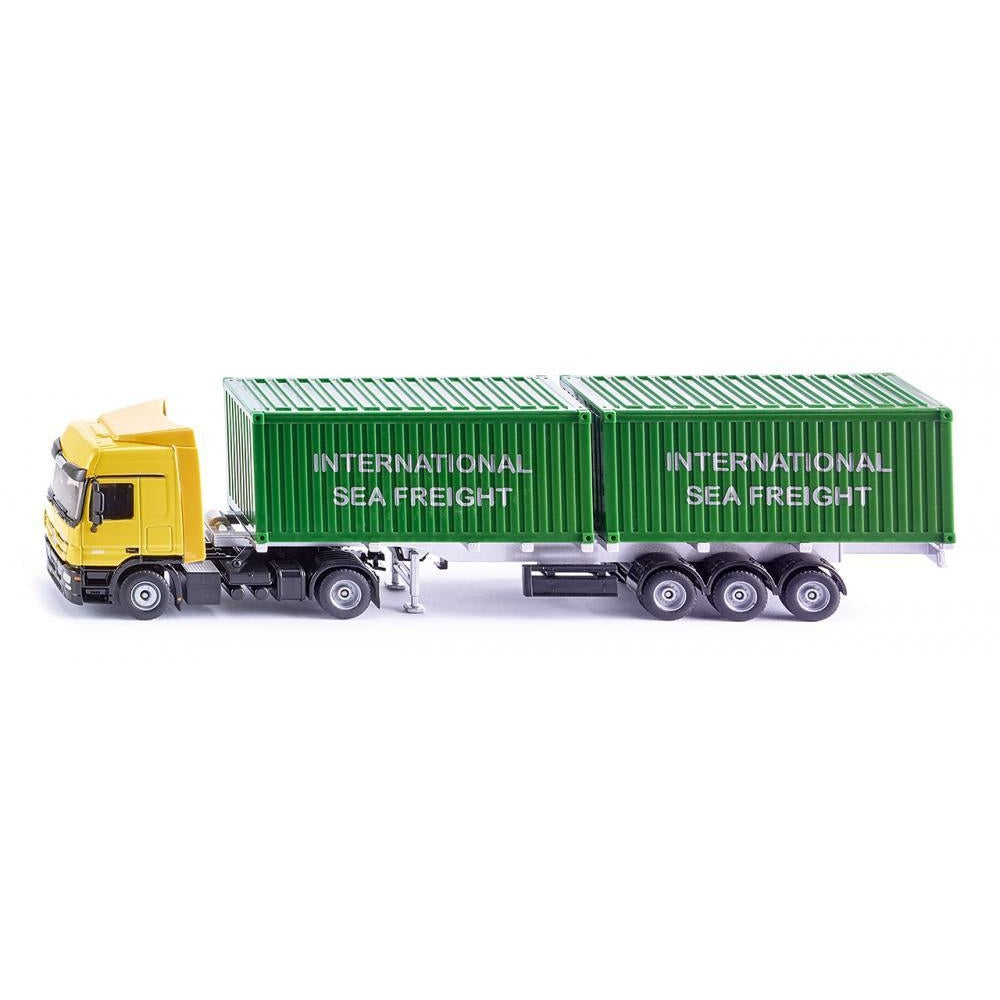 Siku Mercedes-Benz Truck with Containers 1:50