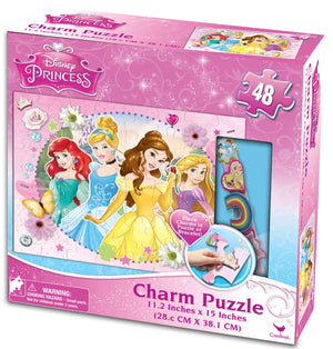 Disney Princess Charm Puzzle with Bracelet