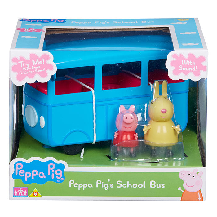 Peppa Pig School Bus With Sound