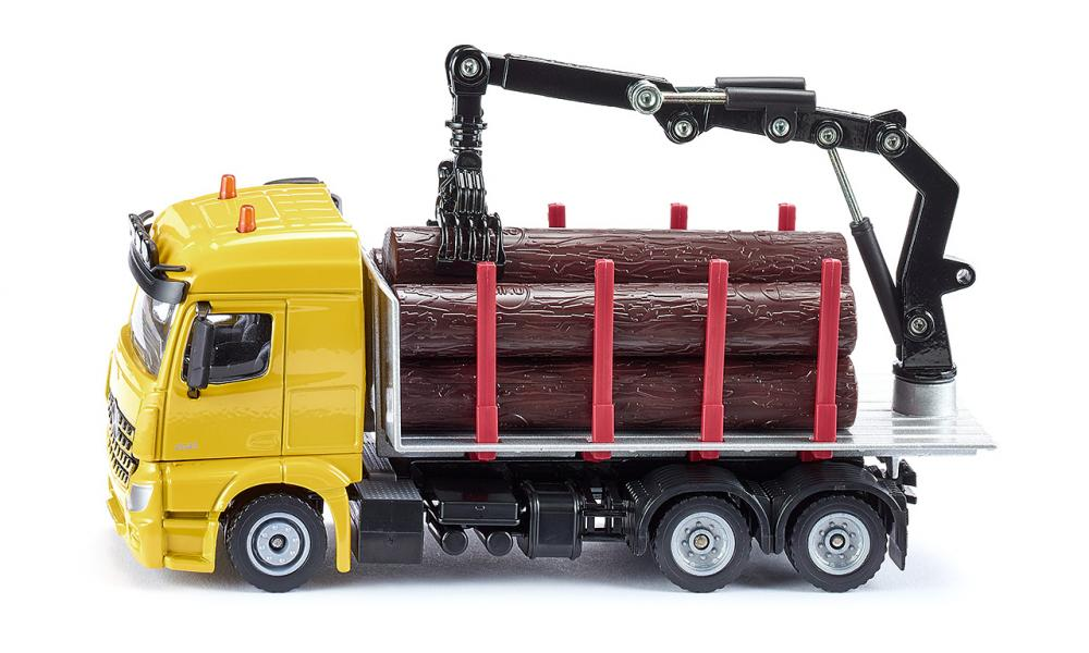 Siku Mercedes-Benz Log Transporter 1:50