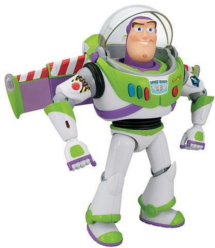 Toy Story - Buzz Light Year Moving Head Figure