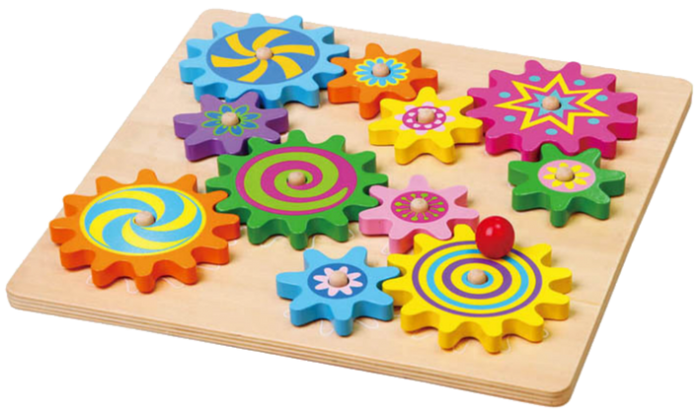 VIGA Smart Thinking - Puzzle & Spinning Gears