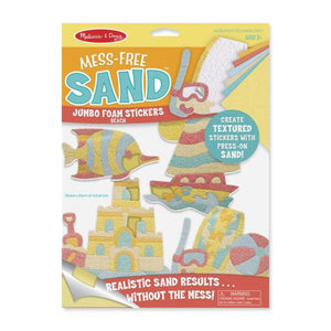 Melissa & Doug Mess-Free Sand Stickers - Beach
