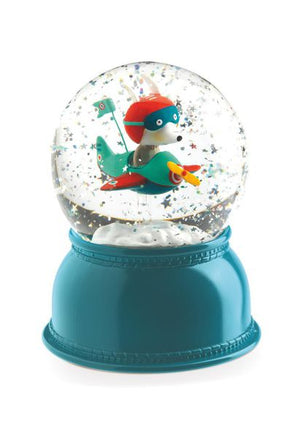 Djeco Snow Globe Night Light Avion