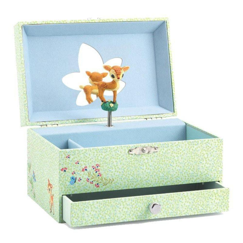 Djeco Wooden Musical Box The Fawn's Song