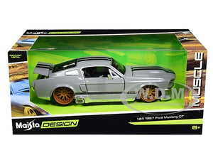 Maisto 1/24 Ford Mustang GT 1967 - Silver