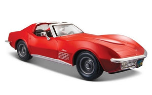 Maisto 1/24 Chevrolet Corvette 1970 Red