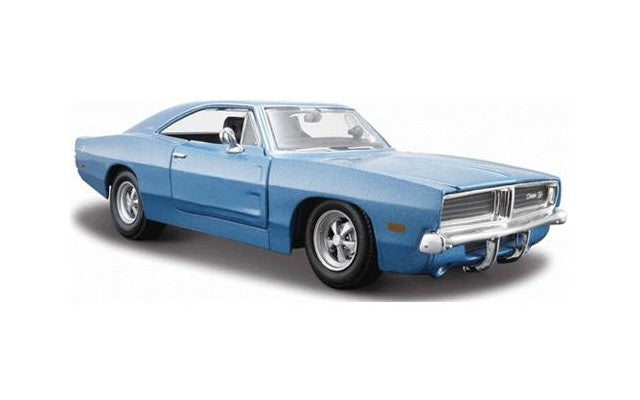 Maisto 1/25 Dodge Charger R/T 1969  Blue