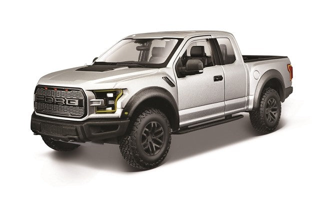 Maisto 1/24 Ford F-150 Raptor Metallic Grey