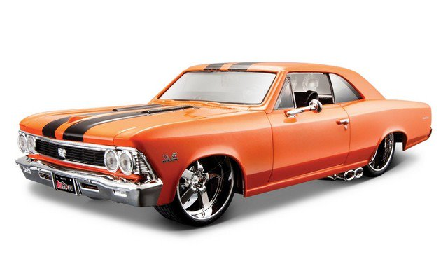 Maisto 1/24 Chevy Chevelle SS 396 1966 Design Orange
