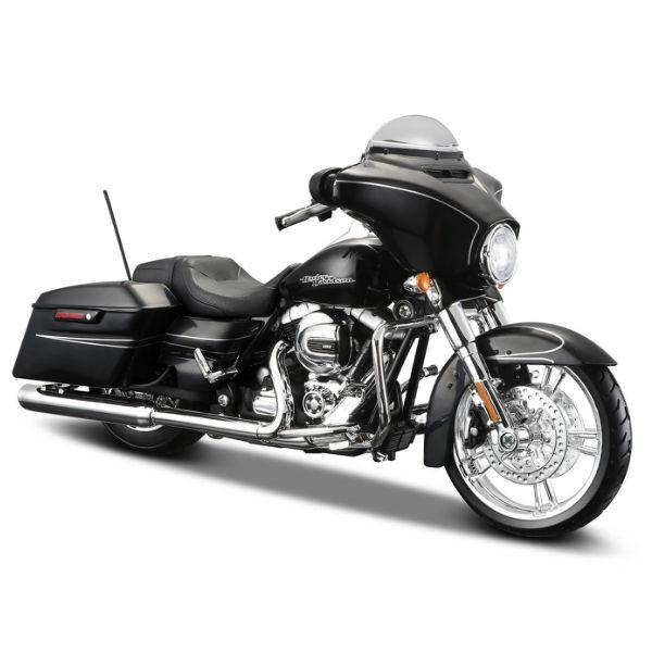Maisto 2015 Harley Davidson Street Glide Special Motorcycle Model 1/12