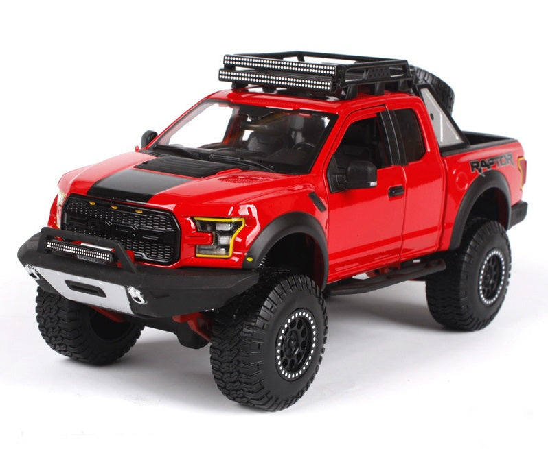 Maisto 2017 Ford F-150 Raptor DESIGN 1/24 Red