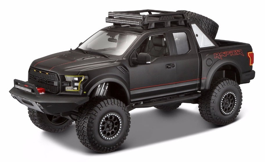 Maisto 2017 Ford F-150 Raptor DESIGN 1/24 Black