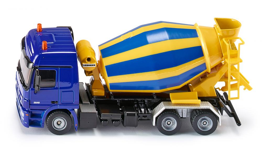 Siku Mercedes-Benz Concrete Mixer 1:50