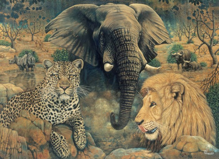 Adult Puzzle - Spirit of Africa 1500 Pieces