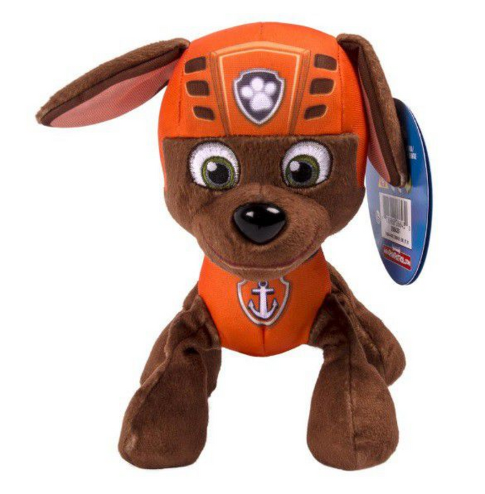 "Paw Patrol Plush Toy 8"" Sea Patrol - Zuma"