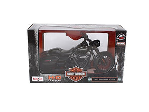 Maisto 2017 Harley Davidson Road King Special Black Motorcycle Model 1/12