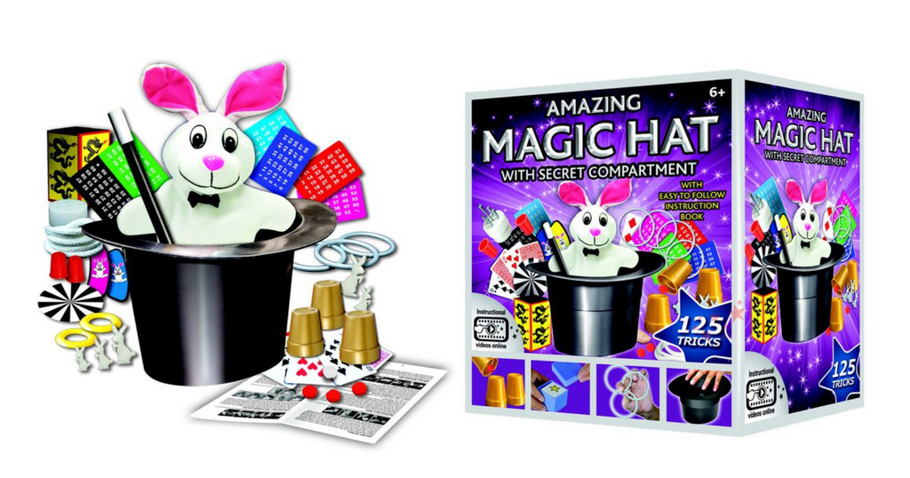 Hanky Panky Amazing Magic Hat 125 Tricks (Plush Rabbit)