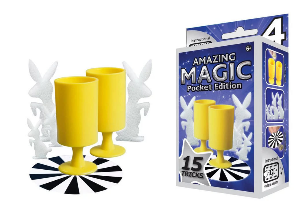 Hanky Panky Amazing Magic Pocket Set #4 (15 Tricks)