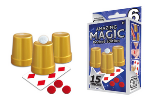 Hanky Panky Amazing Magic Pocket Set #6 (15 Tricks)