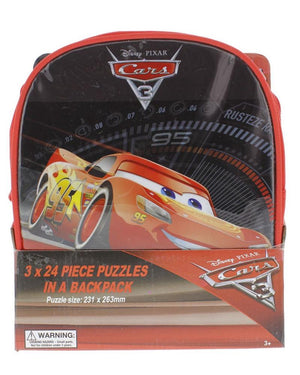 Cars 3 Puzzles in a Bag